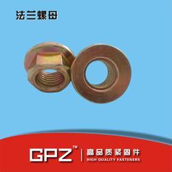 DIN6923法兰螺母 平板法兰螺母 带齿法兰螺母图片