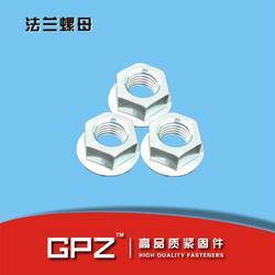 供应 平板法兰螺母 带齿法兰螺母 法兰锁紧螺母 m6-m24图片