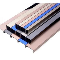 商场彩色不锈钢线条 厂家定制304不锈钢装饰条图片