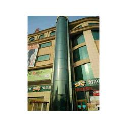 观光电梯玻璃贴膜-想买有品质的就到至善建筑-观光电梯玻璃贴膜图片