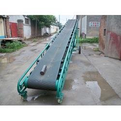 自动升降化肥装卸输送皮带机图片