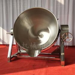 不锈钢蒸汽可翻转夹层锅图片