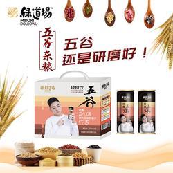绿道场五谷杂粮饮料245ml 24罐装品牌加盟图片