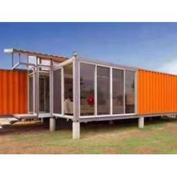 鸡西集装箱-买好的集装箱当然是到沈阳梓诺彩钢工程了图片