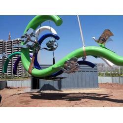 丹东景观雕塑施工-手法细腻的景观雕塑出售图片