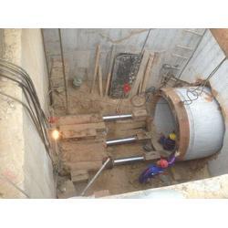 银川专业的顶管-厂家直销-新疆顶管施工图片