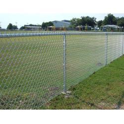 养殖隔离网 优质镀锌浸塑勾花护栏网 球场围网图片