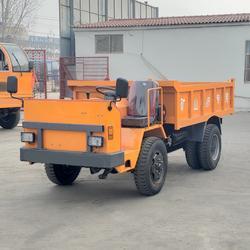 昂特操作方便矿山运输车 定制狭窄矿洞运输车图片