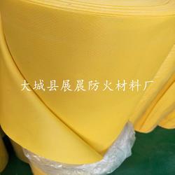 生产黄色硅胶防火布 黄色硅胶布 硅胶布厂家图片