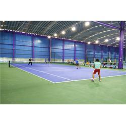 网球场施工建设厂家,专业标准网球场工程建设图片