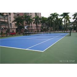 网球场建设工程,标准网球场施工建设工厂厂家图片