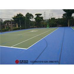 标准网球场施工建设网球场围网灯光专业厂家图片