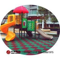 幼儿园EPDM塑胶地面铺设,材料环保耐用图片