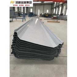 温州475型彩钢板-选购彩钢板优选河峰金属进出口图片