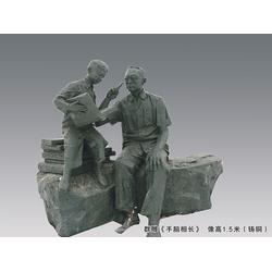 陶行知雕塑公司-购买陶行知群雕像当选沈阳博杰雕塑图片
