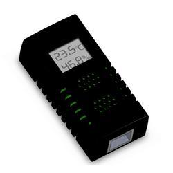 智能双网口手拉手式机房机柜温湿度传感器-H-THD图片