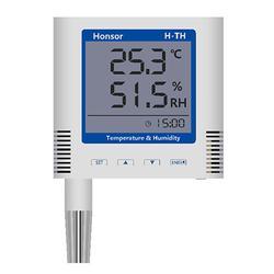 LCD大屏显示壁挂型温湿度记录仪第二代图片