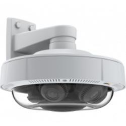 安訊士AXIS Q3708-PVE 網絡攝像機 不良光線環境中的 180 度