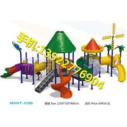 幼儿园大型多功能组合滑滑梯图片