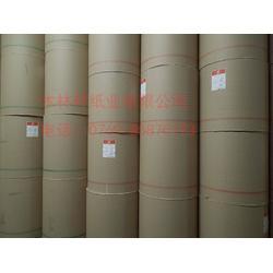 厂家销售全木浆进口50克-100克日本淡黄牛皮纸卷筒平张图片