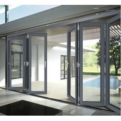 山西铝合金门窗-郑州哪里有价位合理的铝合金智能门窗图片