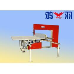 蜂窝纸板瓦楞纸精密高速立切机 海绵立切机 四轮定位立切机图片
