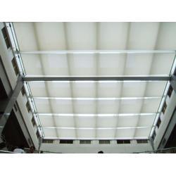 西安電動遮陽簾-陜西戶外遮陽-電動開合屋頂-電動平移屋頂圖片