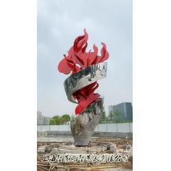 塑景雕塑制作不锈钢火炬雕塑 城市雕塑市政工程图片