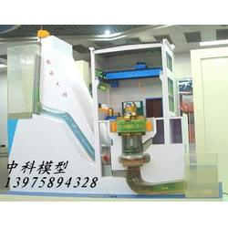 混流式水轮发电机组仿真模型,灯泡贯流式水轮发电机组仿真模型图片