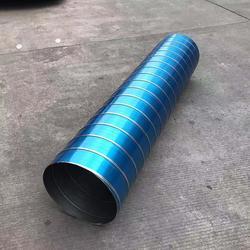 DN800镀锌螺旋风管专业流程生产 铭流螺旋风管厂图片
