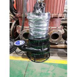 沃泉耐磨砂浆泵 电动矿浆泵 大颗粒抽浆泵 自动抽吸图片