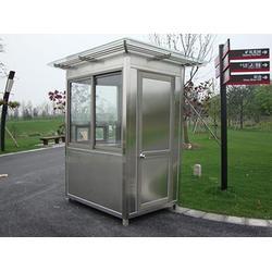 中卫不锈钢岗亭-哪里可以买到优良的宁夏不锈钢岗亭图片