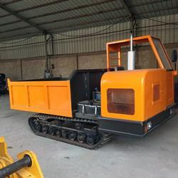 厂家供应橡胶履带运输车自卸式翻斗车图片