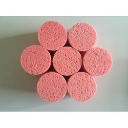 供应方块海绵 木浆棉海绵 红黄蓝白尺寸定制加工厂家图片