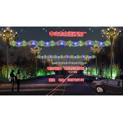 街道造型灯中国结-公园装饰灯-公路灯杆装饰灯图片