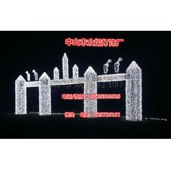 LED发光造型灯 6米*4米,梦幻灯光节钱柜娱乐(众熠提供)灯饰品牌图片