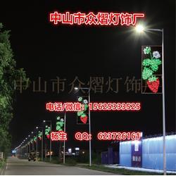 LED围墙造型灯,LED铁架做的造型灯,装在路灯杆上的铁架造型灯价格
