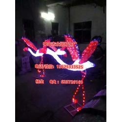 灯光节工程案例(富士山)LED新款造型灯,做LED造型图案灯的厂家图片