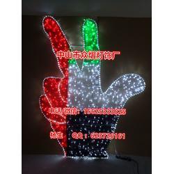 LED滴胶五星雪花造型灯 图案灯 灯画 广告灯 装饰灯图片