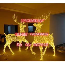 厂家生产LED造型灯图案灯艺术灯圣诞老人灯画雪花树灯灯串图片