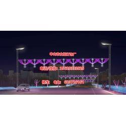 LED横街灯 LED造型灯工程案例,现场施工图图片