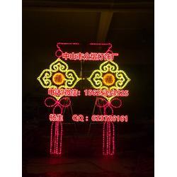 河道亮化装饰LED芦苇灯-河道两旁装饰景观灯-河道两边树木照射灯图片