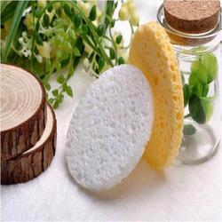 超薄进口木浆棉洗脸扑 清洁无死角 卸妆神器图片