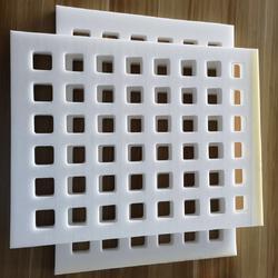 无味高密度方格状豆腐海棉模具图片
