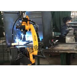 制造工业自动焊接指�]倒�好机械臂 船舶行业全自动点焊机器¤人图片