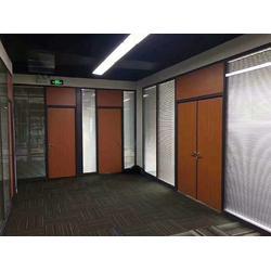 兰州办公室玻璃隔断-有品质的兰州办公室隔断甘肃艾尚空间装饰材料供应图片