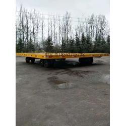 轨道式超低牵引平板拖车厂家图片