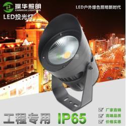 2018新款LED投光灯15W30W40W广告灯园林树木景观照明桥梁楼宇亮化图片