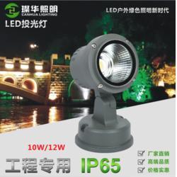 COB花园庭院景观灯10W 12W 投射投光灯 照树灯 插地灯河岸灯图片