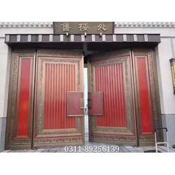 铜门厂家 铜门尺寸 铜门供应 转转门控图片